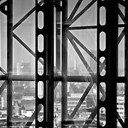 Lloyds building atrium glazing structure, London, England (September 2007)