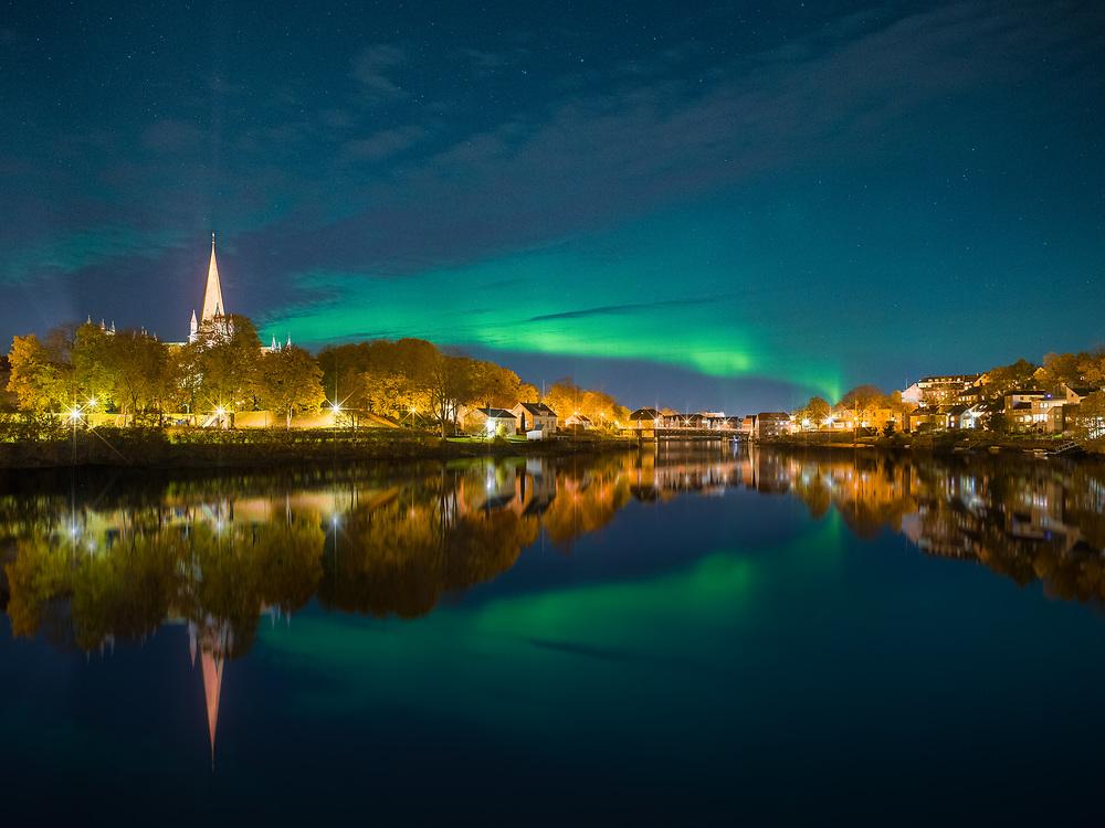 Trondheim, Norway. October 2020.