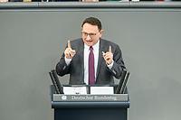 05 MAR 2021, BERLIN/GERMANY:<br /> Ulrich Lange, MdB, CDU, haelt eine Rede, Bundestagsdebatte zur Modernisierung des Personenbeförderungsrechts, Plenarsaal, Reichstagsgebäude, Deutscher BundestagIMAGE: 20210305-01-074