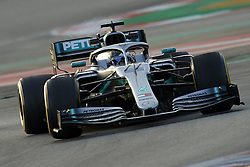 February 19, 2019 - Barcelona, Barcelona, Spain - Valtteri Bottas of Finland driving the (77) Mercedes-AMG Petronas Motorsport W10 during day two of F1 Winter Testing at Circuit de Catalunya on February 19, 2019 in Montmelo, Spain. (Credit Image: © Jose Breton/NurPhoto via ZUMA Press)