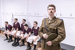 A War of Two Halves tells the true story of the Hearts Football Team on the brink of winning the Scottish League in 1914. They had won 19 out of 21 games when 13 of the players enlist to serve in the Great War. The show captures the dramatic journey from Tynecastle Stadium to the battlefields of the Somme.<br /> <br /> The performance runs until 17 August with 4 performances each day.