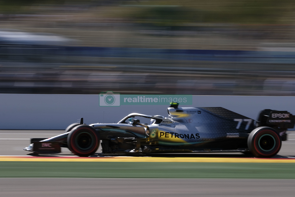 August 31, 2019, Spa Francorchamps, Belgium: Mercedes Driver VALTTERI BOTTAS (FIN) in action during the third free practice session of the Formula one Johnnie Walker Belgian Grand Prix at the SPA Francorchamps circuit - Belgium (Credit Image: © Pierre Stevenin/ZUMA Wire)