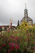 Gramado_RS, Brasil...Igreja Matriz Sao Pedro em Gramado, Rio Grande do Sul...Mother church Sao Pedro in Gramado, Rio Grande do Sul...Foto: MARCUS DESIMONI / NITRO