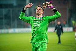 05-02-2017 NED: FC Utrecht - Heerenveen, Utrecht<br /> 21e speelronde van seizoen 2016-2017, Nieuw Galgenwaard / Men of the match David Jensen #16