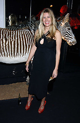 SARA PARKER BOWLES at a party to celebrate the first issue of British Harper's Bazaar held at Cirque, 10-14 Cranbourne Street, London WC2 on 16th February 2006.<br /><br />NON EXCLUSIVE - WORLD RIGHTS
