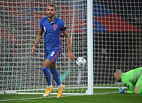 Football - 2022 FIFA World Cup - European Qualifying - Group I - England vs San Marino - Wembley Stadium<br /> <br /> Dominic Calvert - Lewin of England celebrates scoring goal no 2<br /> <br /> Credit : COLORSPORT/ANDREW COWIE