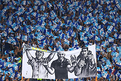 August 13, 2017 - Rome, Italy - Lazio fans before the Italian Supercup match between Juventus and SS Lazio at Stadio Olimpico on August 13, 2017 in Rome, Italy. (Credit Image: © Matteo Ciambelli/NurPhoto via ZUMA Press)