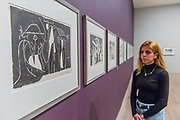 Charcoal drawings on canvas - The EY Exhibition: Picasso 1932 – Love, Fame, Tragedy a new exhibition at the Tate Modern.  It brings together over 100 works made by Pablo Picasso (1881–1973) during 1932, one of the most intensely creative periods in his life.