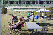 Participants. spectators and volunteers enjoy the annual Hardscrabble Mountain Trail Run at Bear Basin Ranch, to benefit the San Isabel Land Protection Trust.