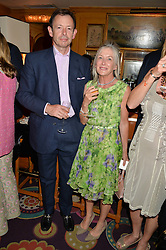 TIM & JUDITH WHITE at the Bedales Art & Design Party hosted by David Linley at Annabel's, 44 Berkeley Square, London on 30th June 2015.