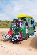 VW Camper fully loaded