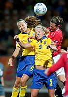 QF, Sweden-Norway, Women's EURO 2009 in Finland, 09042009, Helsinki Football Stadium