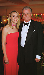 LORD & LADY BELL at a ball in London on 13th May 1999.MRZ 52
