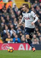 Football - 2016 / 2017 Premier League - Tottenham Hotspur vs. Stoke City<br /> <br /> Christian Eriksen of Tottenham at White Hart Lane.<br /> <br /> COLORSPORT/DANIEL BEARHAM