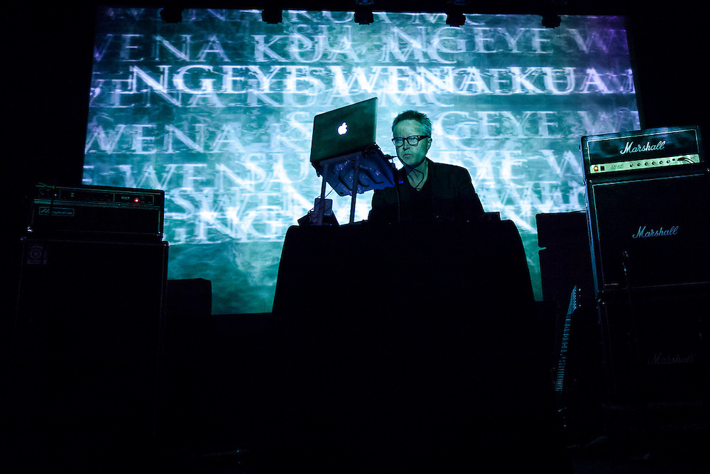 Godflesh at Irving Plaza with Cut Hands and Pharmakon 4.10.14