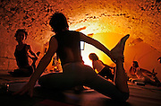 Italy, Florence, Fortezza da Basso, Fitfestival, progressive power yoga