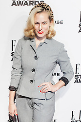 © Licensed to London News Pictures. 18/02/2014. London, UK. Charlotte Dellal attends the ELLE Style Awards 2014 at One Embankment in central London. Photo credit : Andrea Baldo/LNP