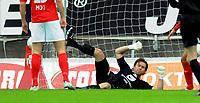 Fotball<br /> 31. Mail 2008<br /> Tippeligaen<br /> Brann - Molde 3 - 4<br /> Håkon Opdal , Brann nede for telling<br /> Foto: Astrid M. Nordhaug