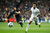 Real Madrid´s Marcelo Vieira during Champions League soccer match between Real Madrid  and Paris Saint Germain at Santiago Bernabeu stadium in Madrid, Spain. November 03, 2015. (ALTERPHOTOS/Victor Blanco)