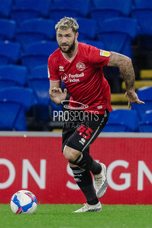 Queens Park Charlie Austin during the EFL Sky Bet Championship match between Cardiff City and Queens Park Rangers at the Cardiff City Stadium, Cardiff, Wales on 20 January 2021.