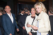 DINOS CHAPMAN; TIPHAINE DE LUSSY; BODIL BLAIN, Dinner to celebrate the opening of the first Berluti lifestyle store hosted by Antoine Arnault and Marigay Mckee. Harrods. London. 5 September 2012.