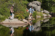 Cornwall, New York - Students take part in the Black Rock Forest Consortium's Summer Science Camp on July 16, 2015.