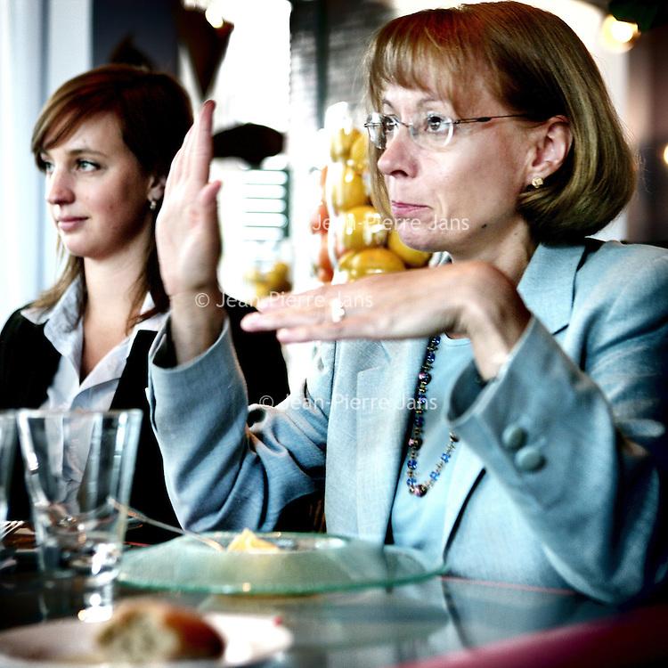 Nederland,Amsterdam ,24 september 2007..Nancy Mc Kinstry,Voorzitter Raad van Bestuur van Wolters Kluwer nv..Foto:Jean-Pierre Jans
