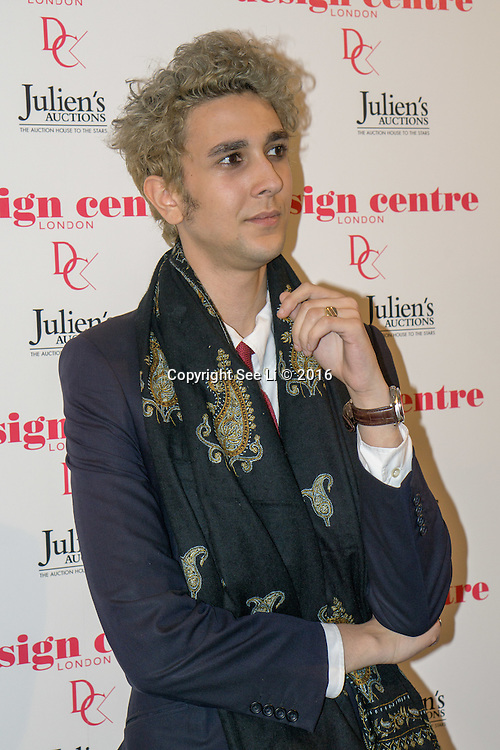 London,England,UK : 25th May 2016 : Kubilai Iksel attend the Marilyn Monroe: Legacy of a Legend launch at the Design Centre, Chelsea Harbour, London. Photo by See Li