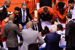 October 19, 2018 - Toronto, Ontario, Canada - Toronto Raptors' head coach Nick Nurse during the Toronto Raptors vs Boston Celtics NBA regular season game at Scotiabank Arena on October 19, 2018 in Toronto, Canada (Toronto Raptors win 113-101) (Credit Image: © Anatoliy Cherkasov/NurPhoto via ZUMA Press)