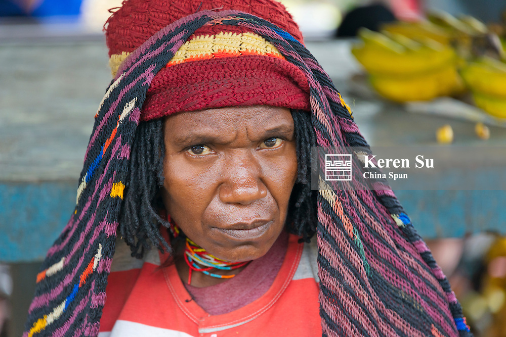 Dani woman, Wamena, Papua, Indonesia