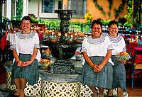Waitresses, Hotel Antigua, Antigua (La Antigua Guatemala), Guatemala