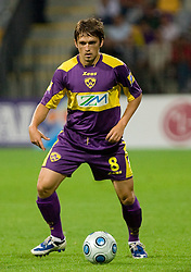 Dejan Mezga of Maribor at Third Round of Champions League qualifications football match between NK Maribor and FC Zurich,  on August 05, 2009, in Ljudski vrt , Maribor, Slovenia. Zurich won 3:0 and qualified to next Round. (Photo by Vid Ponikvar / Sportida)