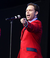 jersey boys performing at westend live trafalgar square london photo by Roger Alacron