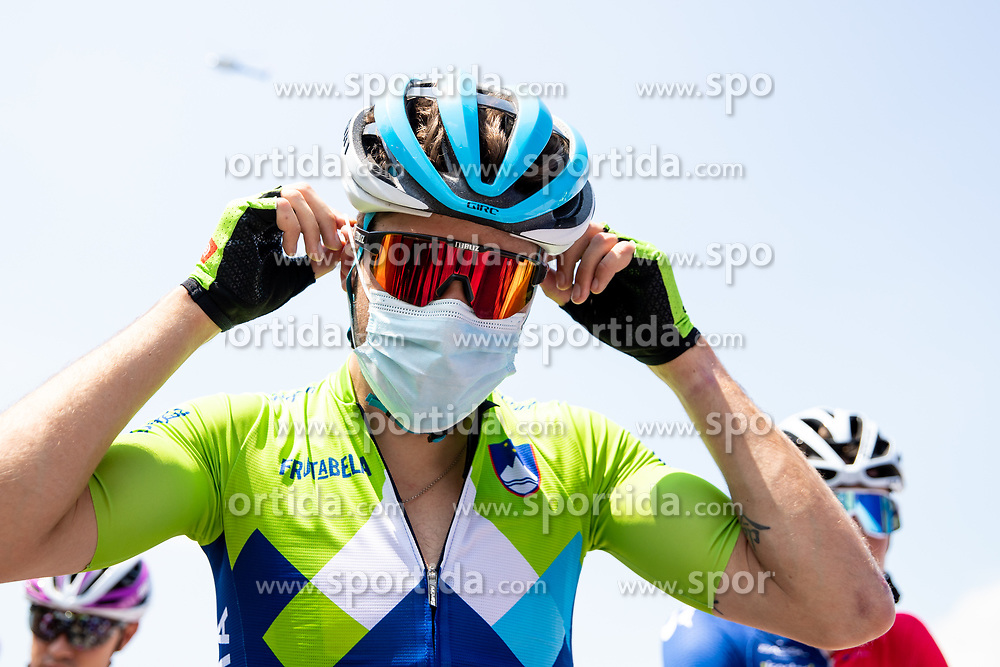 Nik CEMAZAR of Team Slovenia during 1st Stage of 27th Tour of Slovenia 2021 cycling race between Ptuj and Rogaska Slatina (151,5 km), on June 9, 2021 in Slovenia. Photo by Matic Klansek Velej / Sportida
