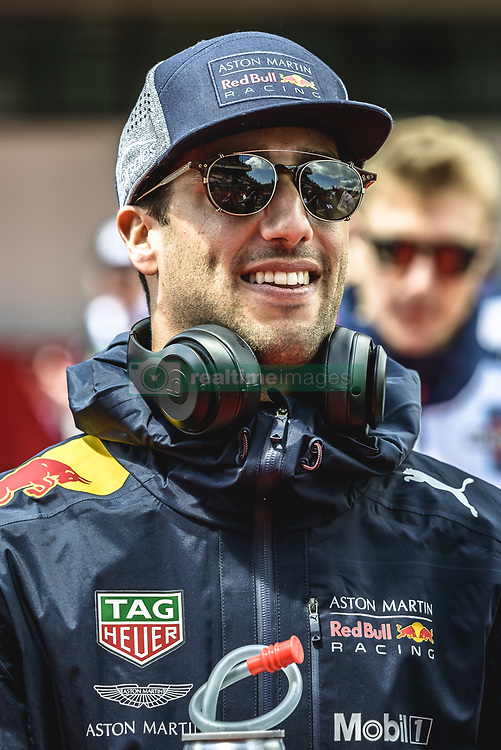May 13, 2018 - Barcelona, Catalonia, Spain - DANIEL RICCIARDO (AUS), Red Bull, is presented to the crowd prior the Spanish GP at Circuit de Barcelona - Catalunya (Credit Image: © Matthias Oesterle via ZUMA Wire)