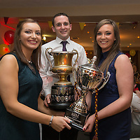 Captains Brian Curtin, Siobhan Talty and Katie Curtin,