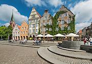 Olsztyn, 2014-05-18. Rynek Starego Miasta.