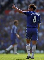 Photo: Paul Thomas.<br /> Blackburn Rovers v Chelsea. The FA Cup, Semi Final. 15/04/2007.<br /> <br /> Goal scorer Frank Lampard of Chelsea.