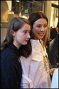 CAMILLE ORMANDY; LOUISE OLSEN;  , Dinosaur Designs launch of their first European store in London. 35 Gt. Windmill St. 18 September 2014