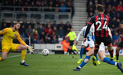 AFC Bournemouth's Ryan Fraser fires in a shot across the box