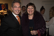 ROBERT DAVIES; MBE; COUNCILLOR LADY FLIGHT, The launch of The City of Westminster: A Celebration of People,  published by Quartet in collaboration with the Sir Simon Milton Foundation. Hosted by Robert Davis MBE and Naim Attallah CBE, Halcyon Gallery. London. 20 March 2017.