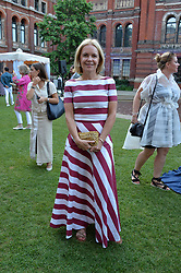 Mariella Frostrup at the V&A Summer Party 2017 held at the Victoria & Albert Museum, London England. 21 June 2017.<br /> Photo by Dominic O'Neill/SilverHub 0203 174 1069 sales@silverhubmedia.com