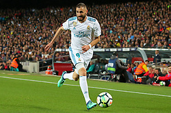 May 6, 2018 - Barcelona, Catalonia, Spain - Karim Benzema during the match between FC Barcelona and Real Madrid CF, played at the Camp Nou Stadium on 06th May 2018 in Barcelona, Spain.  Photo: Joan Valls/Urbanandsport /NurPhoto. (Credit Image: © Joan Valls/NurPhoto via ZUMA Press)