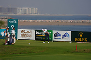 Ashley Chesters (ENG) on the 9th during Round 4 of the Oman Open 2020 at the Al Mouj Golf Club, Muscat, Oman . 01/03/2020<br /> Picture: Golffile   Thos Caffrey<br /> <br /> <br /> All photo usage must carry mandatory copyright credit (© Golffile   Thos Caffrey)