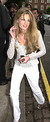 MRS IMRAN KHAN she was Jemima Goldsmith, at <br /> a party in London on 5th July 2000.OGB 91<br /> © Desmond O'Neill Features:- 020 8971 9600<br />    10 Victoria Mews, London.  SW18 3PY <br /> www.donfeatures.com   photos@donfeatures.com<br /> MINIMUM REPRODUCTION FEE AS AGREED.<br /> PHOTOGRAPH BY DOMINIC O'NEILL
