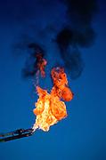 Alaska. Gas flare.