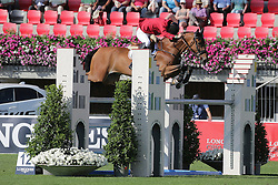 Verlooy Jos, (BEL), Domino<br /> Furusiyya FEI Nations CupTM presented by Longines<br /> CSIO Sankt Gallen 2015<br /> © Hippo Foto - Stefano Secchi<br /> 05/06/15