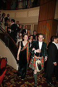 VISCOUNT AND VISCOUNTESS DUPPLIN, The Royal Caledonian charity Ball 2006.Grosvenor House. London. 5 May 2006. . ONE TIME USE ONLY - DO NOT ARCHIVE  © Copyright Photograph by Dafydd Jones 66 Stockwell Park Rd. London SW9 0DA Tel 020 7733 0108 www.dafjones.com