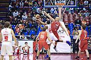 DESCRIZIONE : Milano Lega A 2012-13 EA7Emporio Armani  Grissin Bon Reggio Emilia<br /> GIOCATORE : Samuels Samardo<br /> CATEGORIA : Tiro<br /> SQUADRA : EA7 Emporio Armani Milano<br /> EVENTO : Campionato Lega A 2013-2014<br /> GARA : EA7Emporio Armani  Grissin Bon Reggio Emilia<br /> DATA : 24/11/2013<br /> SPORT : Pallacanestro <br /> AUTORE : Agenzia Ciamillo-Castoria/I.Mancini<br /> Galleria : Lega Basket A 2013-2014  <br /> Fotonotizia : Milano Lega A 2013-2014 EA7Emporio Armani  Grissin Bon Reggio Emilia<br /> Predefinita :
