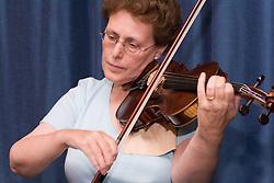 Woman playing violin,